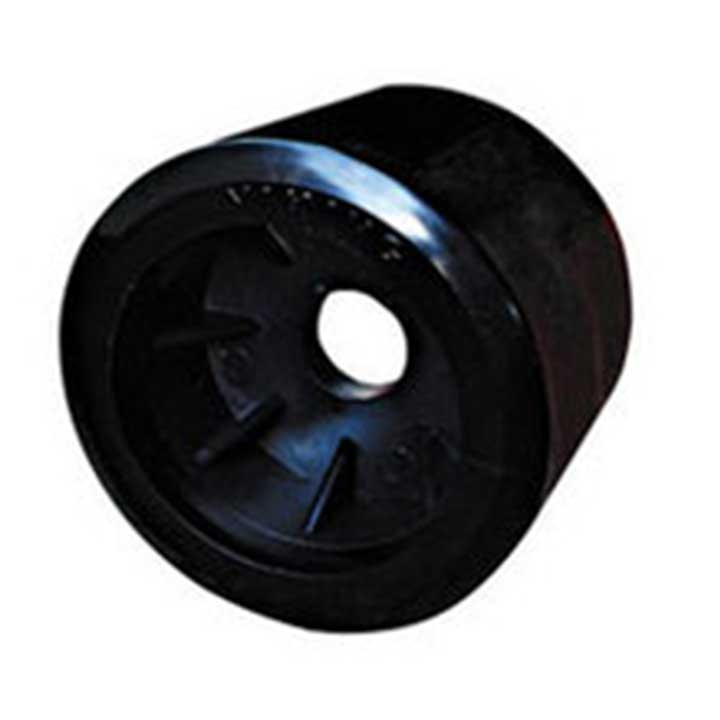 Black Smooth Wobble Roller 20mm bore|Diameter = 100mm Width = 88mm