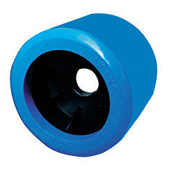 Blue Smooth Wobble Roller 20mm bore|Diameter = 100mm Width = 88mm