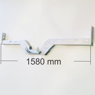 1580mm Rear cross member - Bolt On