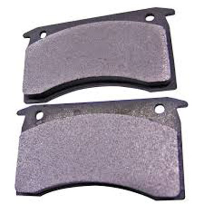 Mechanical brake calipers pads pair (One side)