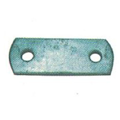 9/16 Galvanised Shackle Plate|63mm Centre Galvanised