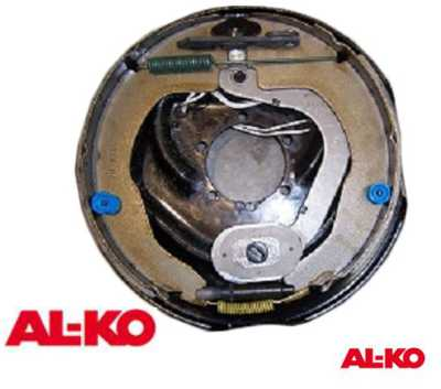 ALKO 10 Inch Electric Backing Plates with Park Brake Lever|ROAD Side